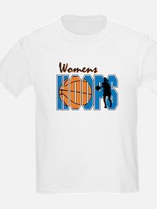 WOMENS HOOPS *1* {blue} T-Shirt