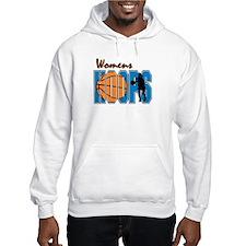 WOMENS HOOPS *1* {blue} Hoodie