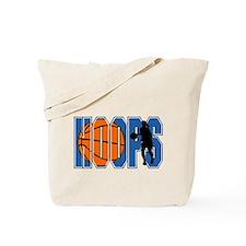 HOOPS *2* {blue} Tote Bag