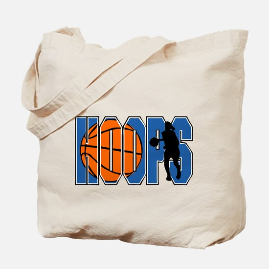 HOOPS *2* {blue} Tote Bag