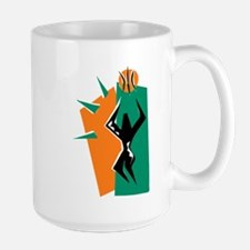 BASKETBALL *50* {orange/green Mug