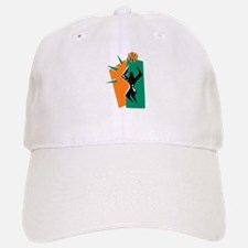 BASKETBALL *50* {orange/green Baseball Baseball Cap