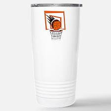 BASKETBALL *51* {orange} Travel Mug