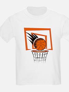 BASKETBALL *51* {orange} T-Shirt