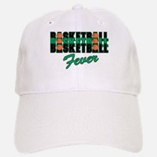 BASKETBALL FEVER {black/green Baseball Baseball Cap