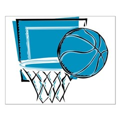 BASKETBALL *52* {blue} Posters