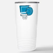 BASKETBALL *52* {blue} Travel Mug