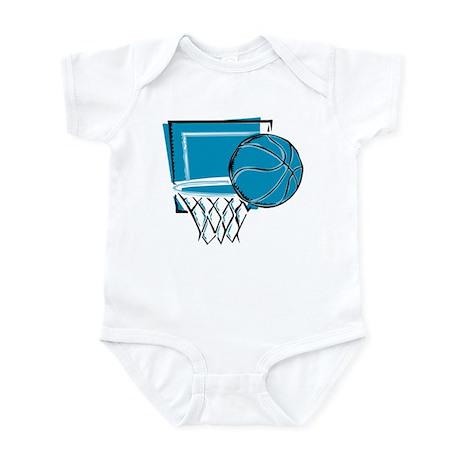 BASKETBALL *52* {blue} Infant Bodysuit
