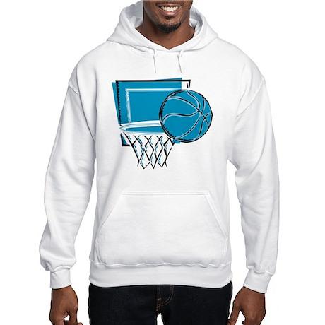 BASKETBALL *52* {blue} Hooded Sweatshirt