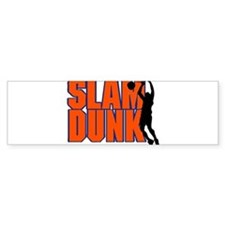 SLAM DUNK *2* {orange/blue} Bumper Sticker