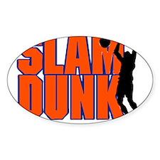SLAM DUNK *2* {orange/blue} Decal