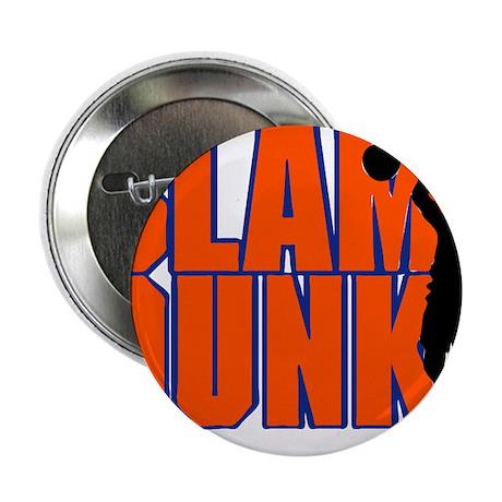 "SLAM DUNK *2* {orange/blue} 2.25"" Button (100 pack"