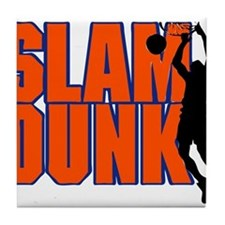SLAM DUNK *2* {orange/blue} Tile Coaster