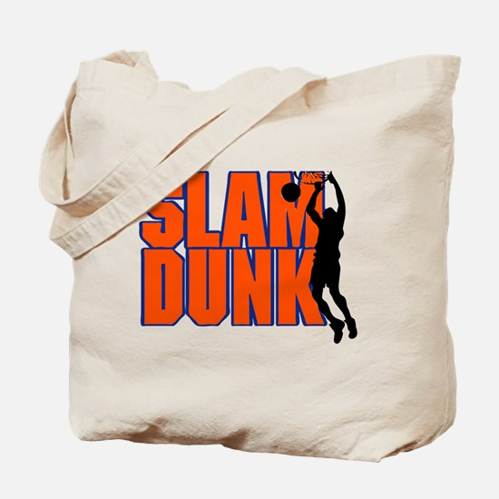 SLAM DUNK *2* {orange/blue} Tote Bag
