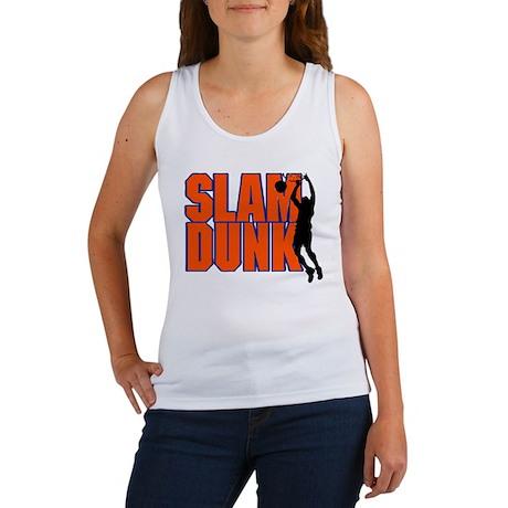SLAM DUNK *2* {orange/blue} Women's Tank Top