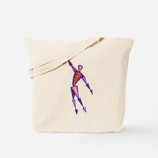 BASKETBALL *56* {purpleish} Tote Bag