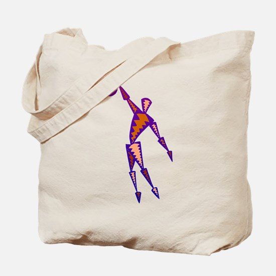 BASKETBALL *56* {purpleish} Tote Bag