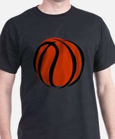 BASKETBALL *60* {orange} T-Shirt