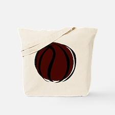 BASKETBALL *60* {crimson} Tote Bag