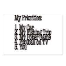 My Priorities Postcards (Package of 8)
