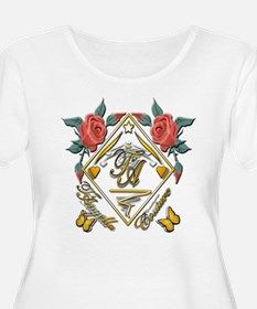 T-Shirt with roses