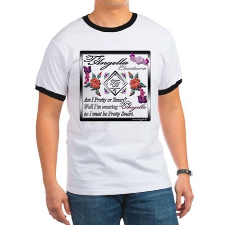Ringer T with flowers