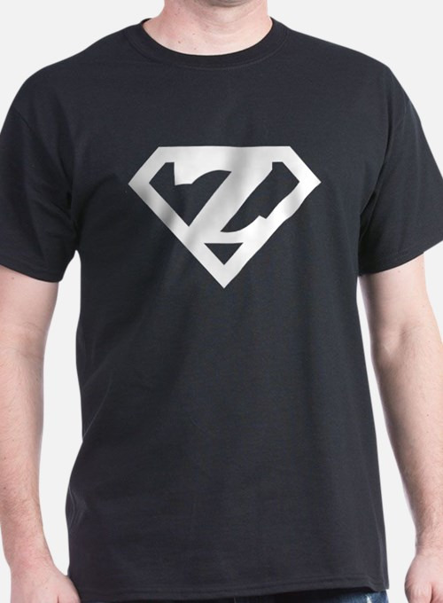 Super White Z Logo T-Shirt
