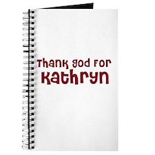 Thank God For Kathryn Journal