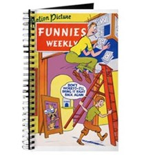 $9.99 Motion Picture Funnies Weekly 1 SketchBook