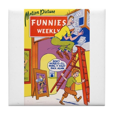 $14.99 Motion Picture Funnies Weekly 1 Mug Coaster