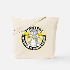 Suicide Cat Fighter Tote Bag