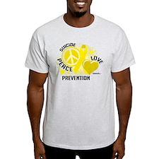 Suicide Peace Love Prevention T-Shirt
