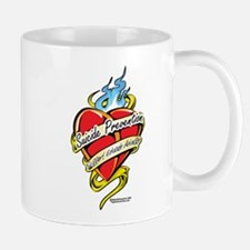 Suicide Prevention Tattoo Hea Mug