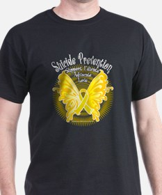 Suicide Prevention Butterfly T-Shirt