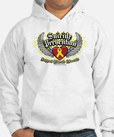 Suicide Prevention Wings Hoodie