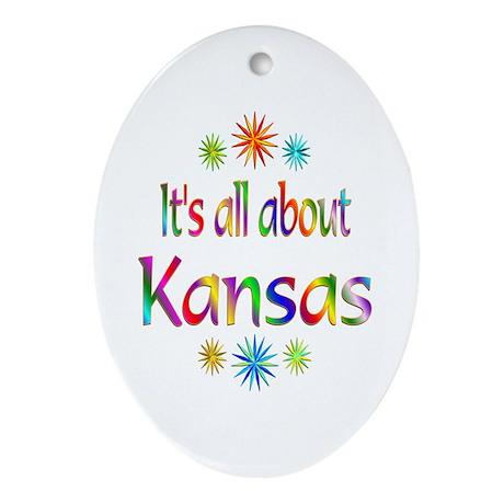 Kansas Ornament (Oval)