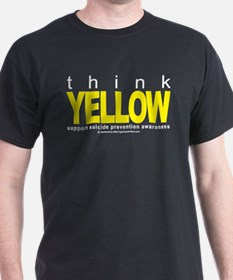 Suicide Prevention Think Yell T-Shirt
