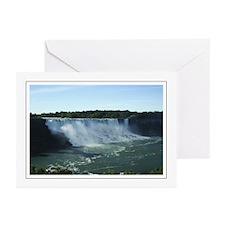 American Falls Morn Greeting Cards (Pk of 10)