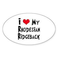 Rhodesian Ridgeback Decal
