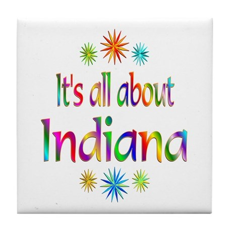 Indiana Tile Coaster