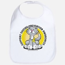 Suicide Prevention Cat Bib