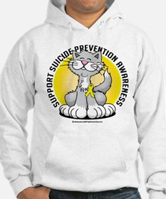 Suicide Prevention Cat Hoodie