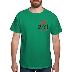 I heart 2011 a lot T-Shirt