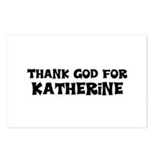 Thank God For Katherine Postcards (Package of 8)
