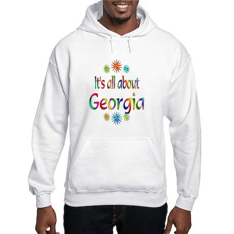 Georgia Hooded Sweatshirt