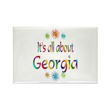 Georgia Rectangle Magnet (100 pack)