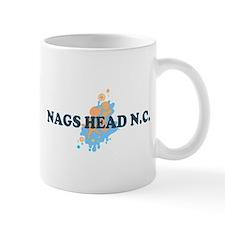 Nags Head NC - Seashells Design Mug