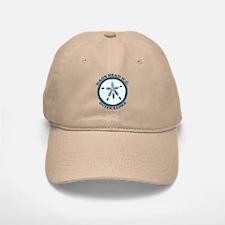 Nags Head NC - Seashells Design Baseball Baseball Cap