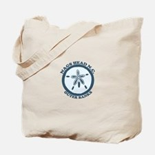 Nags Head NC - Seashells Design Tote Bag