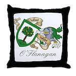 O'Flanagan Sept Throw Pillow